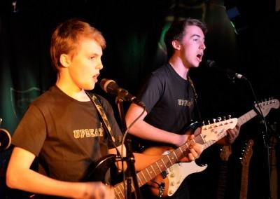 upbeat guitarists