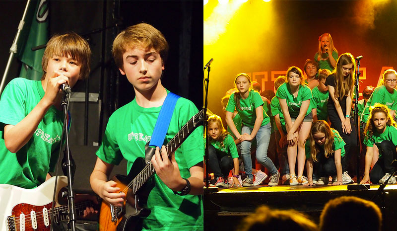 Kensington music holiday camps for kids